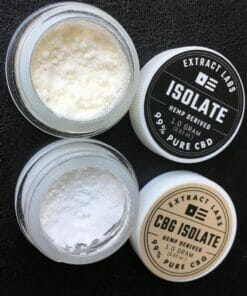 cbd isolate power