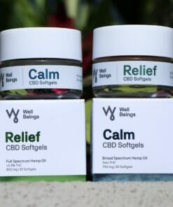 Well Beings CBD Softgels