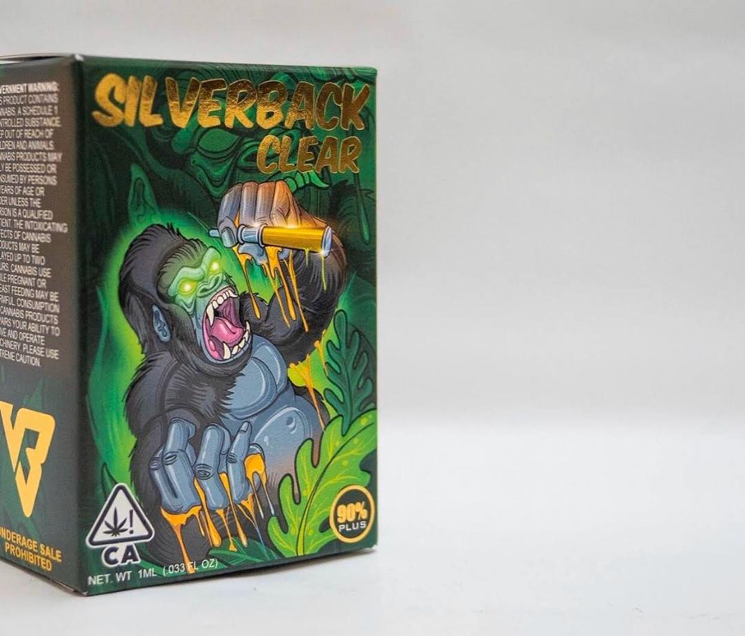 BUY SILVERBACK CLEAR MOONROCK CARTRIDGES ONLINE
