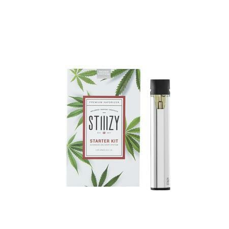 STIIIZY Battery Starter Kit - Silver Edition